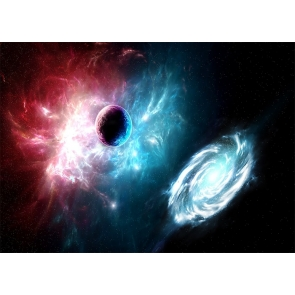 Sparkly Galaxy Outer Space Backdrop Studio Stage Photography Background