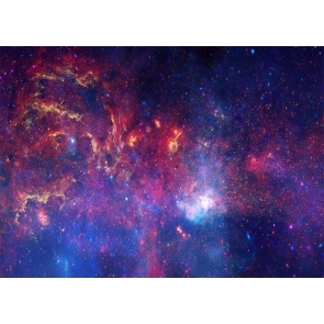 Glitter Outer Space Star Galaxy Party Backdrop Studio Stage Photography Background