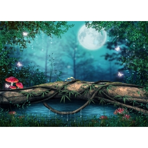 Fairy Tale World Forest Wonderland Backdrop Party Studio Photography Background