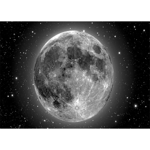 Universe Starry Sky Large Full Moon Backdrop For Wedding Party Studio Photography Background
