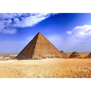 Egyptian Pyramid Desert Backdrop Stage Party Photography Background