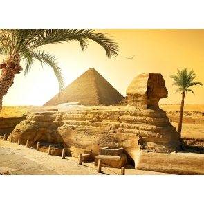 Egyptian Desert Pyramid Backdrop Stage Scenic Photography Background