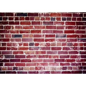 Retro Red Brick Wall Backdrops Studio Photography Background