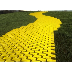 Yellow Brick Road Backdrop Party Stage Photography Background