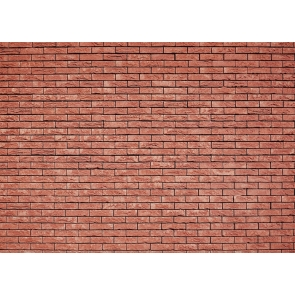 Outdoor Fine Strip Red Brick Wall Backdrops Studio Party Photography Background