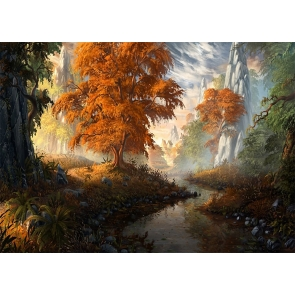 Oil Painting Fall Backdrop Studio Portrait Photography Background