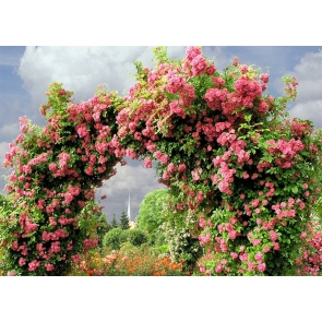 Flower Arch Wedding Backdrop Photography Background