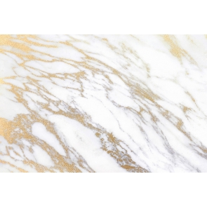 White And Gold Vinyl Marble Texture Backdrop Studio Portrait Photography Background Prop