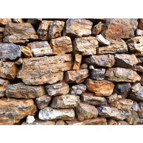 Retro Old  Rock Stone Wall Backdrop Studio Photography Background Decoration Prop