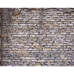 Retro Rock Stone Brick Wall Backdrop Studio Photography Background Decoration Prop