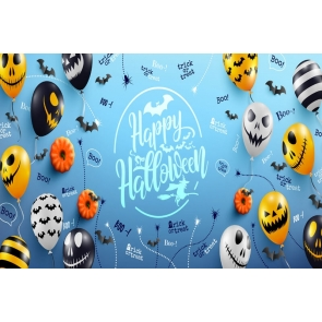 Boo Trick Or Treat Theme Halloween Backdrop Stage Party Background