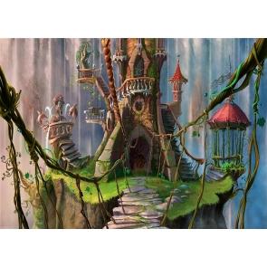 Fairy Forest Wonderland Castle Background Party Photography Backdrop