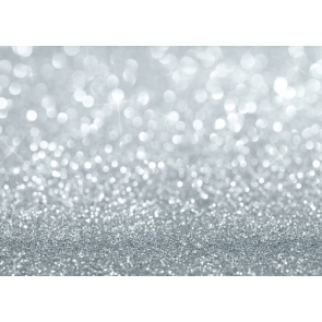 Glitter Silver Powder Bright Spot Backdrop Party Photo Props Background