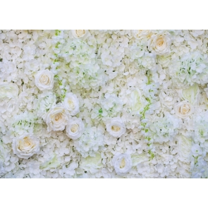 Wedding Photography Backdrops White Flower Wall Valentines Background