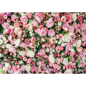 Rose Flower Wallpaper Backdrop Outdoor Wedding Bridal Shower Photography Background Decoration Prop