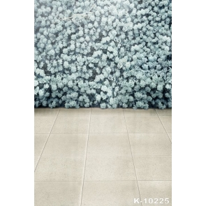 White Flowers Ceramic Tiles Wedding Best Photo Backdrops