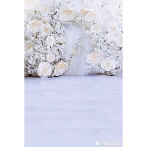 Sweet Large Small White Flowers Wedding Best Photography Backdrops