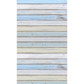 Retro Multicolor Wood Plank Backdrop Studio Portrait Photography Background Prop