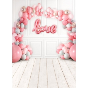 Kid Baby Shower Happy Birthday Backdrop Backdrop With Balloon Photography Background Prop