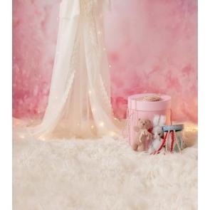 Baby Girl Shower Backdrop Decoration Studio Photography Background Prop