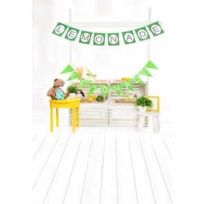 Lemonade Banner Wood Frool Baby Shower Birthday Party Backdrop Decoration Prop Photography Background