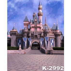Beautiful Castle Backdrop For Birthday Party Photography Background