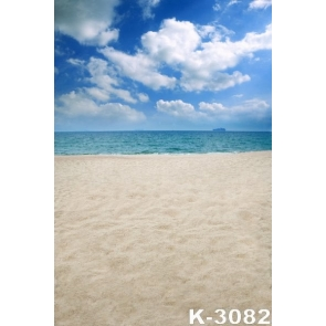 Summer Vacation Seaside Beach Photo Prop Background