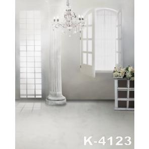 Bright Large Chandelier Indoor Vinyl Wedding Photo Backdrops