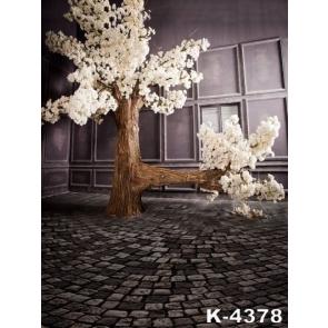 Tree Full of White Flowers Wedding Best Photography Backdrops