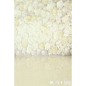 Three-dimensional Paper-cut Flowers Wall Wedding Best Photography Backdrops