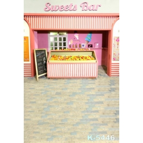 Sweets Bar Fruits Ice Cream Children's Photography Backdrops