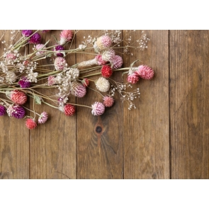Vertical Texture Wood Flowers Background Drops for Photography