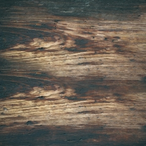 Vinyl Rustic Dark Wood Board Background Photography Backdrop