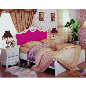 Retro European Style Bed Bedroom Backdrop Video Photography Background Decoration Prop