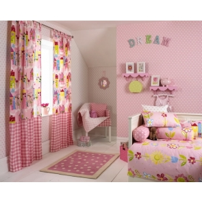 Pink Dream Child Girl Bedroom Backdrop Video Photography Background Decoration Prop
