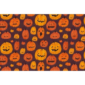 Spooky Pumpkin Theme Wall Background Halloween Party Backdrop Decorations