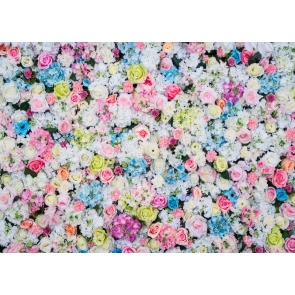 Rose Peony Flower Wall Backdrop For Home Or Birthday Party Decoration
