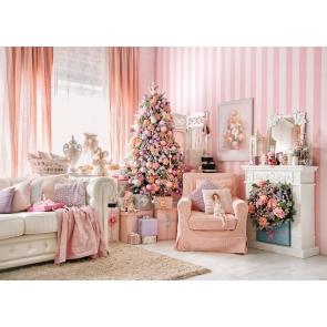 Christmas Tree Sofa Christmas Backdrops For Stage Background