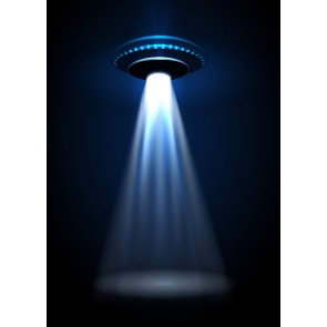 UFO Science Fiction Background Studio Photography Backdrop