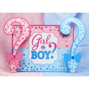 Child Boy And Girl Baby Show Photography BackgroundHappy Birthday Party Backdrop