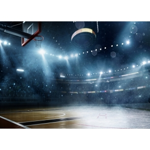 Playground Athletic Sports Basketball Court Backdrop For Birthday Party Photography Background