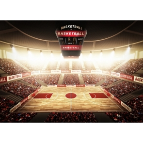 Playground Athletic Sports Court Basketball Field Backdrop Photography Background