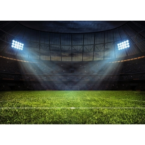 Football Sports Playground Athletic Field Backdrop Party Event Photography Background