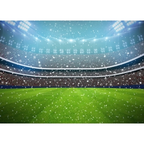 Playground Athletic Sports Football Event Party Backdrop Party Photography Background