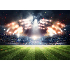 Football Field Backdrop Playground Athletic Sports Party Event Photography Background