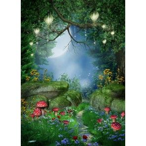 Fairy Tale Forest Wonderland Backdrop Party Studio Photography Background
