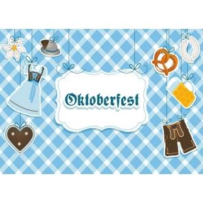 Happy Oktoberfest Party Backdrop Studio Photography Background Decoration Prop