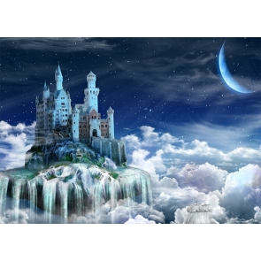 Wonderland In The Air Castle Background Party Photography Backdrop