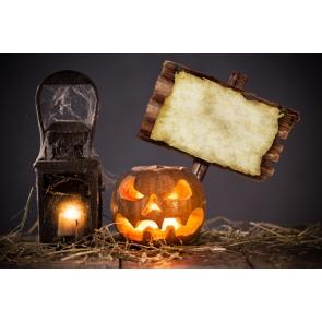 Halloween Party Pumpkin Lantern Kerosene Lamp Board Photography Backdrops